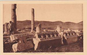 Tunisisa Tuburbo Le Temple de Mercure