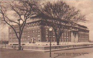 New York Utica Soldiers And Sailors Memorial Hospital Masonic Home Albertype