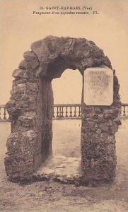 Fragment D´Un Aqueduc Romain, Saint-Raphael (Var), France, 1900-1910s