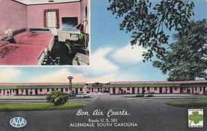 South Carolina Allendale Bon Air Courts