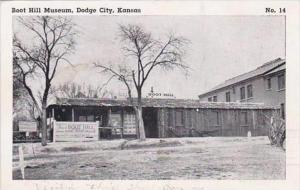 Kansas Dodge City Boot Hill Museum