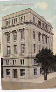 Pennsylvania Harrisburg Masonic Temple 1911