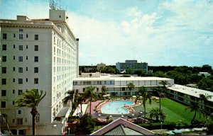 Florida Clearwater Jack Tar Hotel 1965
