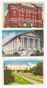 Views of Greenville South Carolina ´30-40s