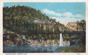 Bridge, Shadow Rock, Forsyth, Missouri, PU-1928