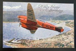 Mint England Color Picture Postcard Aviation De Havilland Comet