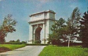 National Memorial Arch Valley Forge Pennsylvania 1958