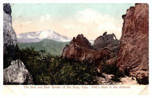 Colorado ,  The seal and Bear Garden of the Gods