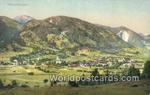 Oberammergau Germany, Deutschland Postcard