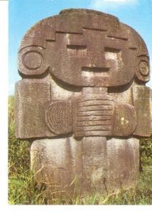 Postal 048822 : Huila Colombia. Parque Arqueologico de San Agustin