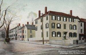 PORTLAND, Maine, 1901-07; Birthpaces of Longfellow & Thos. B. Reed