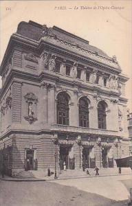 France Paris Le Theatre de l'Opera Comique