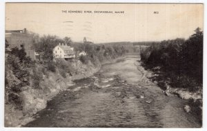 Skowhegan, Maine, The Kennebec River