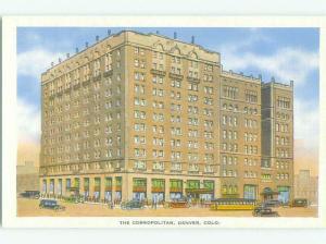 Unused Linen COSMOPOLITAN HOTEL Denver Colorado CO hr7757
