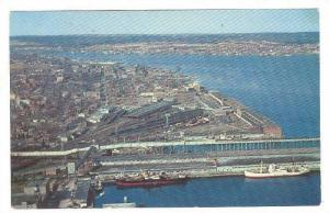 Looking North over Halifax, Nova Scotia, Canada, 40-60s
