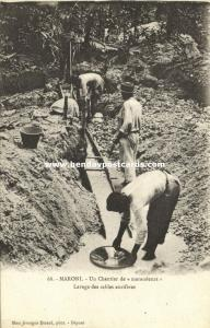 french guyana, MARONI, Gold Nugget Mining (1899)