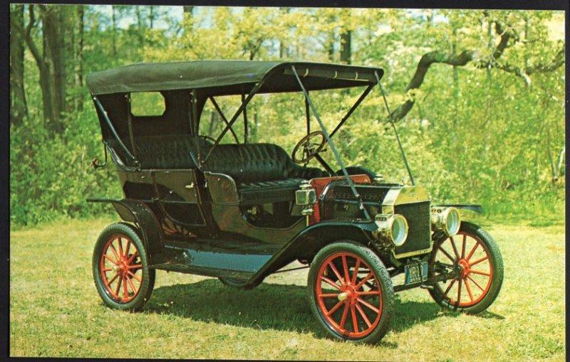 Classic Car Postcard 1910 FORD T Touring Car