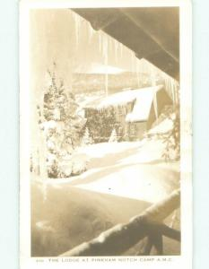 Pre-1950 rppc NICE VIEW Pinkham Notch - Gorham & White Mountains NH W0598