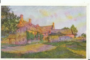 Northamptonshire Postcard - Sulgrave Manor - Seen From The West - Ref 14096A
