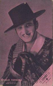 Actor DOUGLAS FAIRBANKS, 1920-30s; # 2