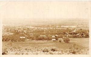 F31/ Prosser Washington RPPC Postcard c1920s Birdseye Residence Homes