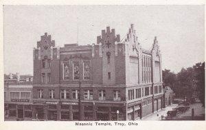 TROY, Ohio, 00-10s; Masonic Temple