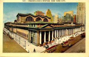 NY - New York City. Pennsylvania Station