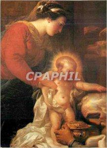 Modern Postcard Adoration of the Magi detail Gabriel Fran?ois Doyen