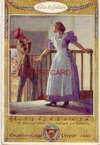 DEUTSCHER SCHULVEREIN 1880 Filia hofpitalis O WONNEVOLLE JUGENDZEIT MIT FREUDEN