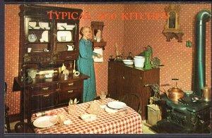 Typical 1870 Kitchen,Boot Hill,Dodge City,KS