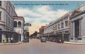 Main Thoroughfare First Stret Fort Myers Florida