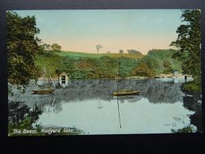 Staffordshire Leek RUDYARD LAKE The Basin c1907 Postcard by Valentine 60037