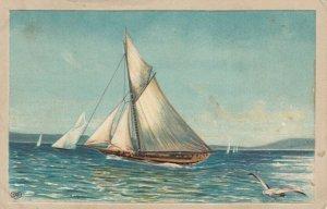 Sail boat, PU-1909