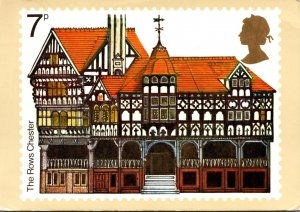 England Stamps The Rows Chester