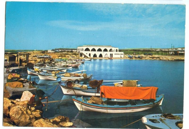 Ayia Napa Fishing Bay, Cyprus, used Postcard