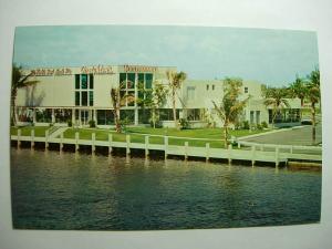pre-1980 CREIGHTON'S RESTAURANT Ft. Lauderdale FL Unused Postcard FORT y8005-22
