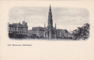 Scott Monument , EDINBURGH , Scotland , 1890s