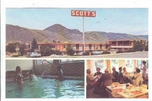 Scott´s Motor Inn , Kamloops , B.C. , Canada , 50-60s