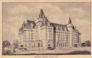 OTTAWA, Ontario, Canada, 1900-1910s; Chateau Laurier