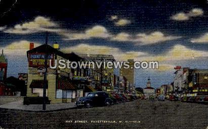 Hay Street Fayetteville NC Unused