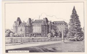 AS: Edward Goodall, The Empress Hotel, Victoria, B.C., Canada, 1910-1920s