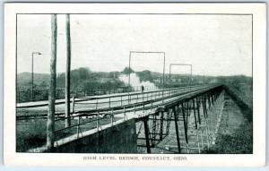 CONNEAUT, Ohio  OH    HIGH LEVEL BRIDGE  ca 1910s   Postcard