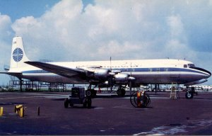 Pan American Airways - Douglas DC-6B  (aviationcards.com)