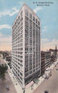 DETROIT, Michigan; S. S. Kresge Building, 00-10s