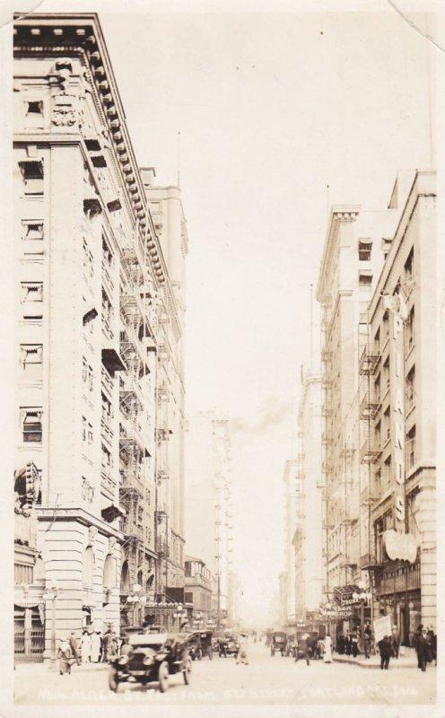 RP: PORTLAND, Oregon, PU-1922; Alder Street