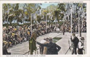 Shuffleboard , Crystal Park , LAKE WALES , Florida , 1910s