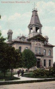 WOODSTOCK, Ontario, Canada, PU-1909; Central School