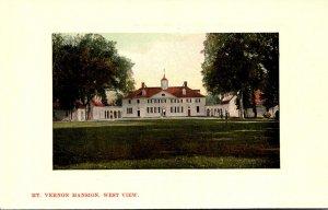 Virginia Mount Vernon Washington's Mansion West View