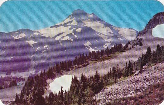 One Of The Highest In The State Mount Jefferson Oregin