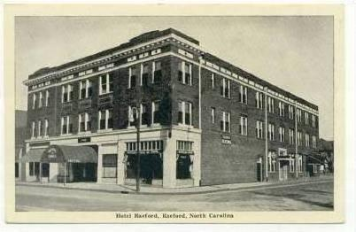 Hotel Raeford North Carolina 1920 40s
